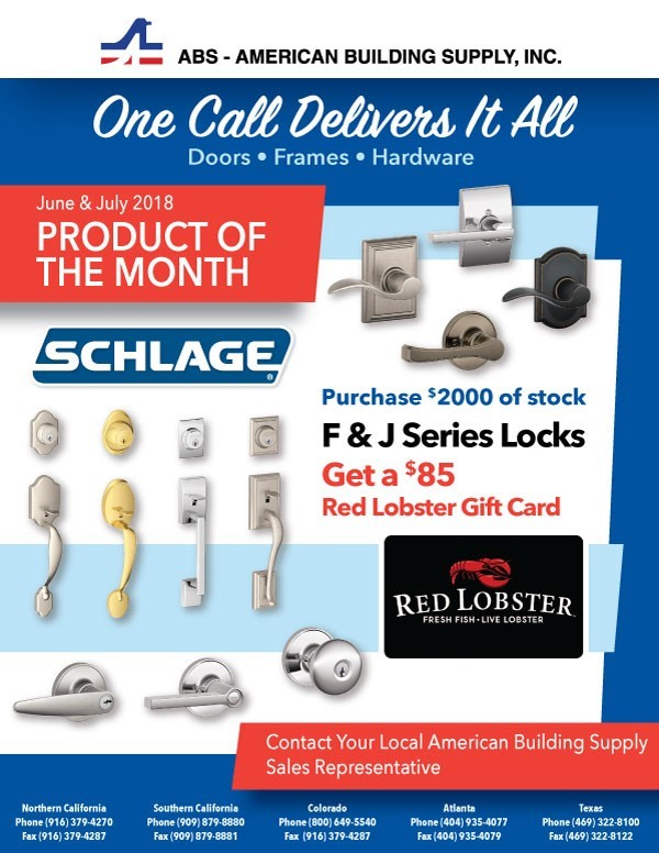 june july F and J series locks ad